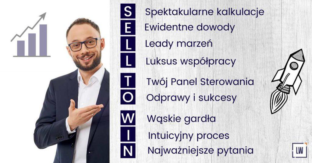Andrzej krótki przedstawia Sell to Win - lean w sprzedaży